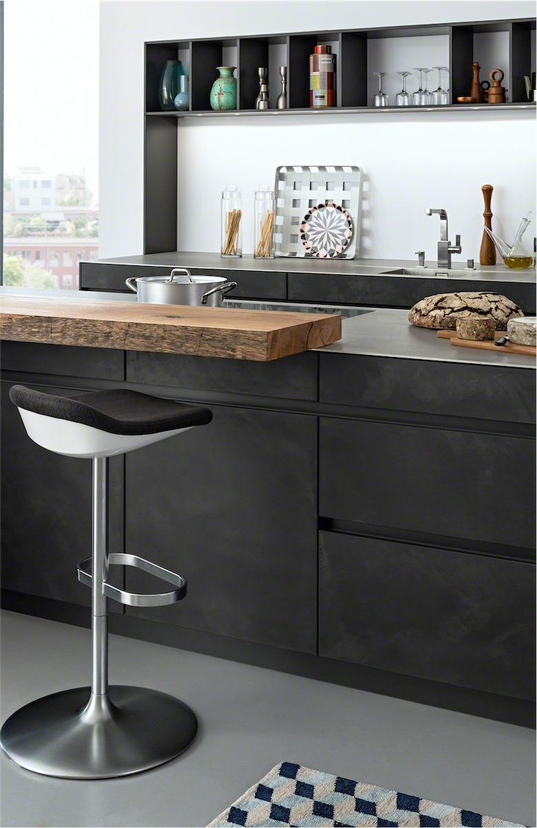 marvellous industrial chic kitchen | Concrete-A LEICHT Kitchens - Modern Kitchen London - Elan ...