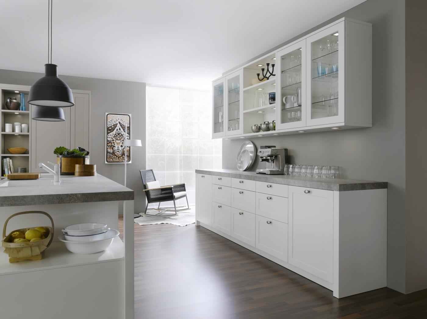 LEICHT Carre-FS Kitchens - Luxury Contemporary Kitchen From Elan