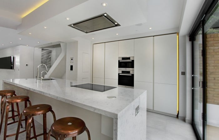 Luxury Contemporary Kitchens in Fulham, London