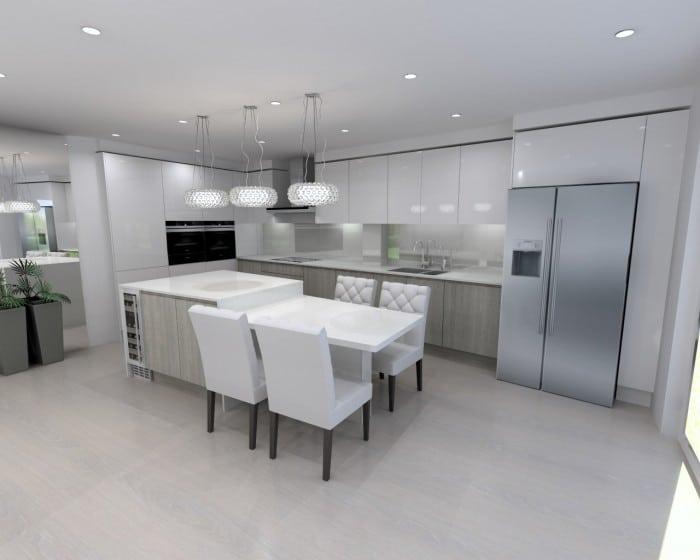 bespoke kitchen designs modern kitchens london elan