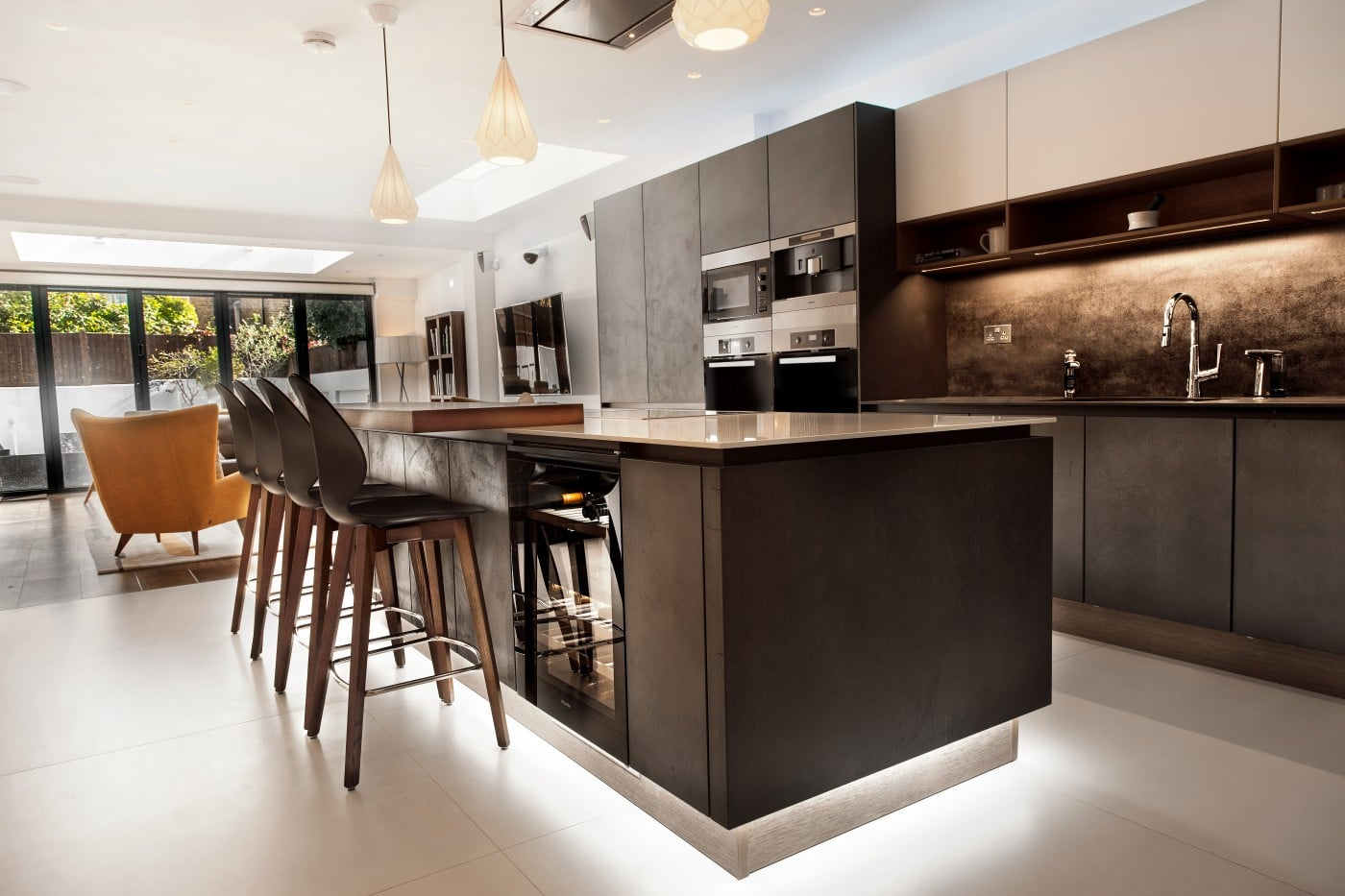 Luxury Contemporary Kitchen In Chiswick London Elan Kitchens